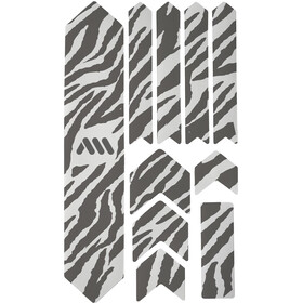 All Mountain Style Extra Frame Protection Kit 10 Pieces, clear/zebra